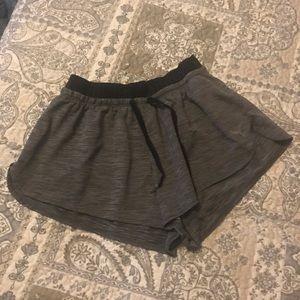 Running puma shorts